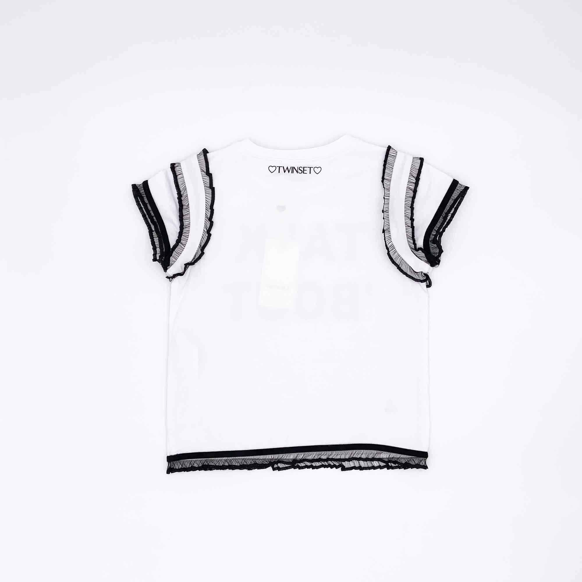 T-shirt talk 'bout - Bianco