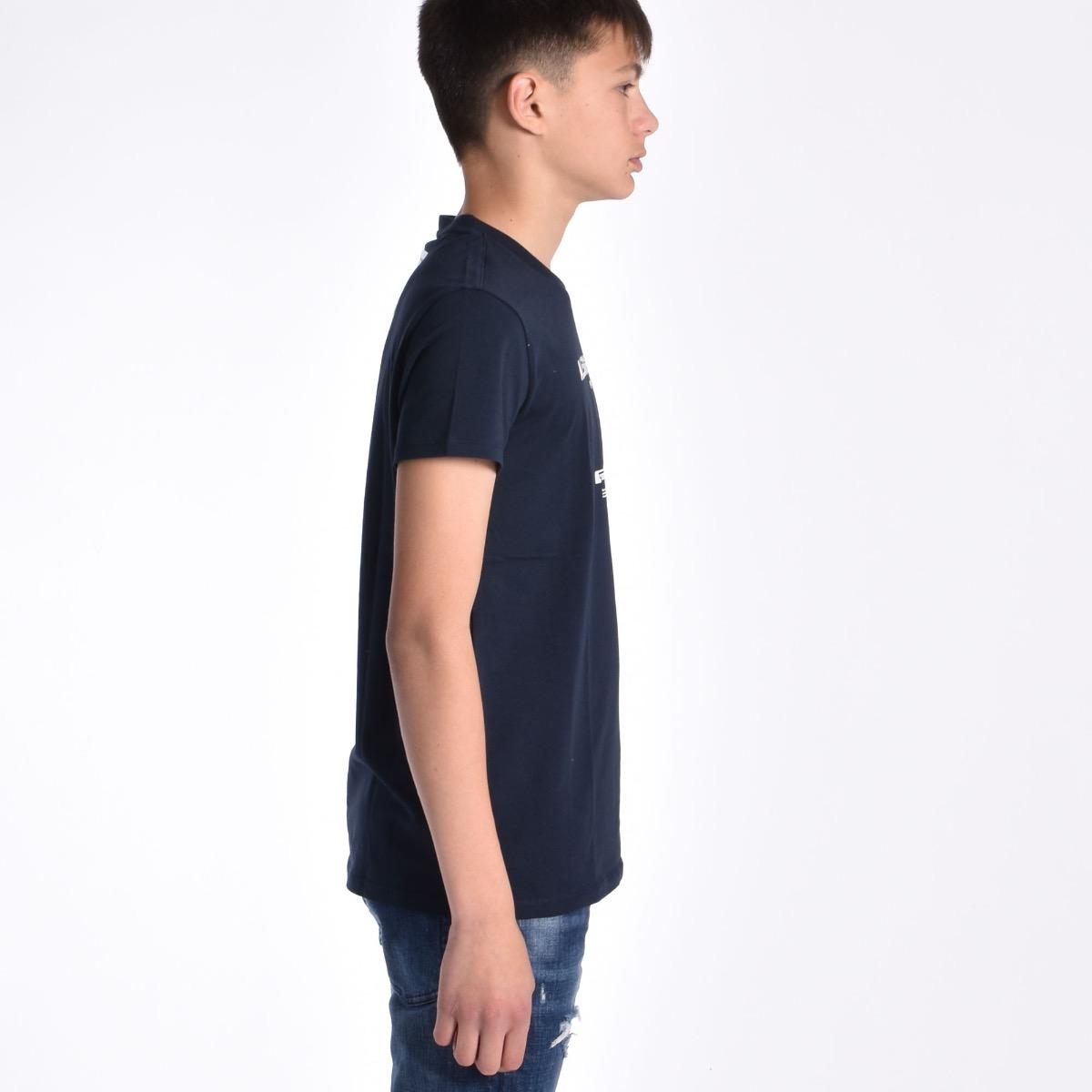 T-shirt con logo - Blu