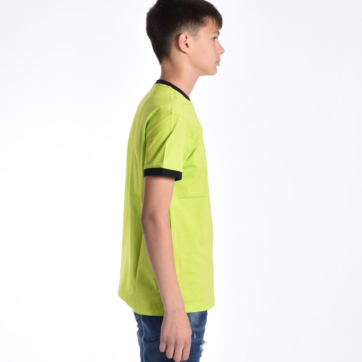 T-shirt con logo lucido - Fluo