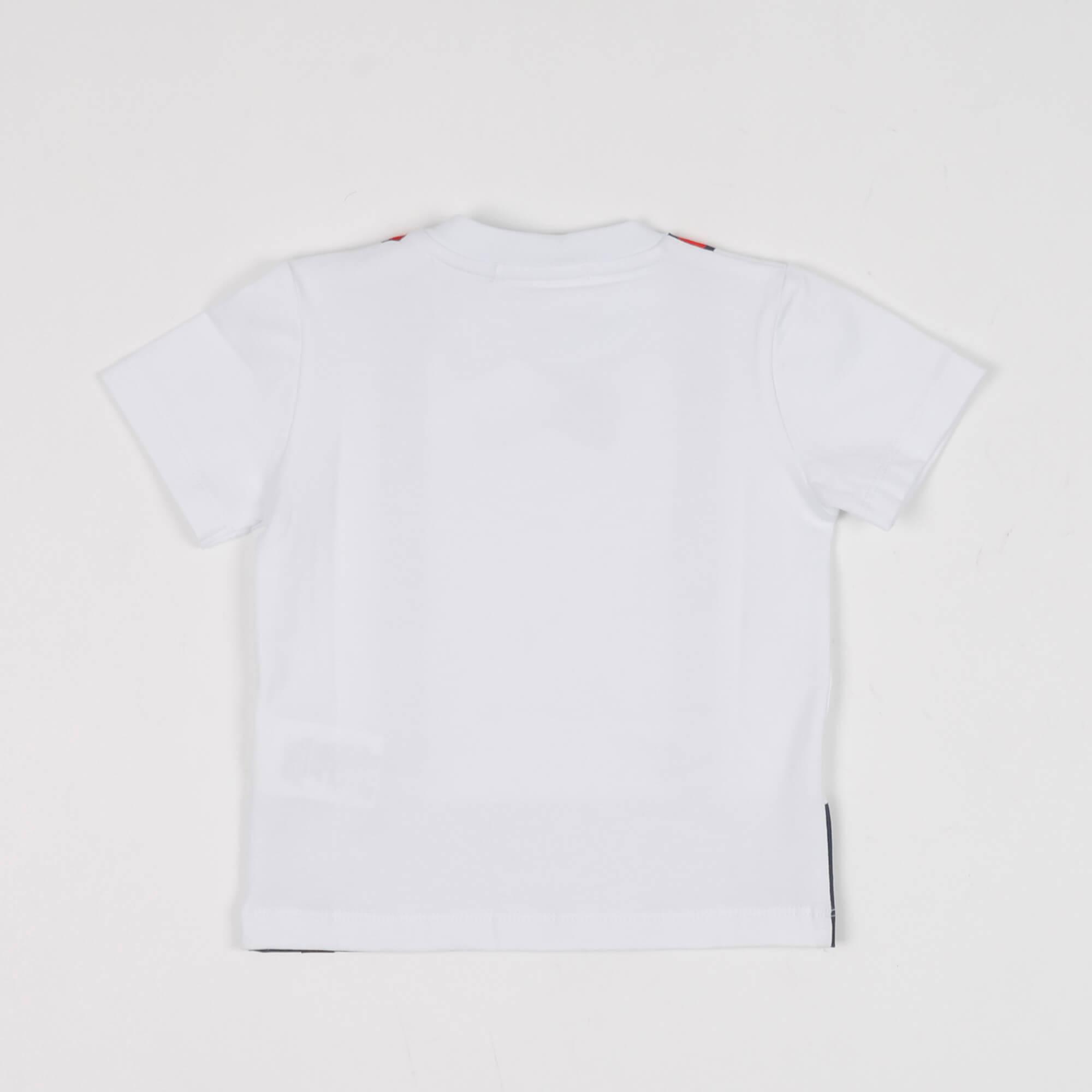 T-shirt baby maxi stampa  - Bianco