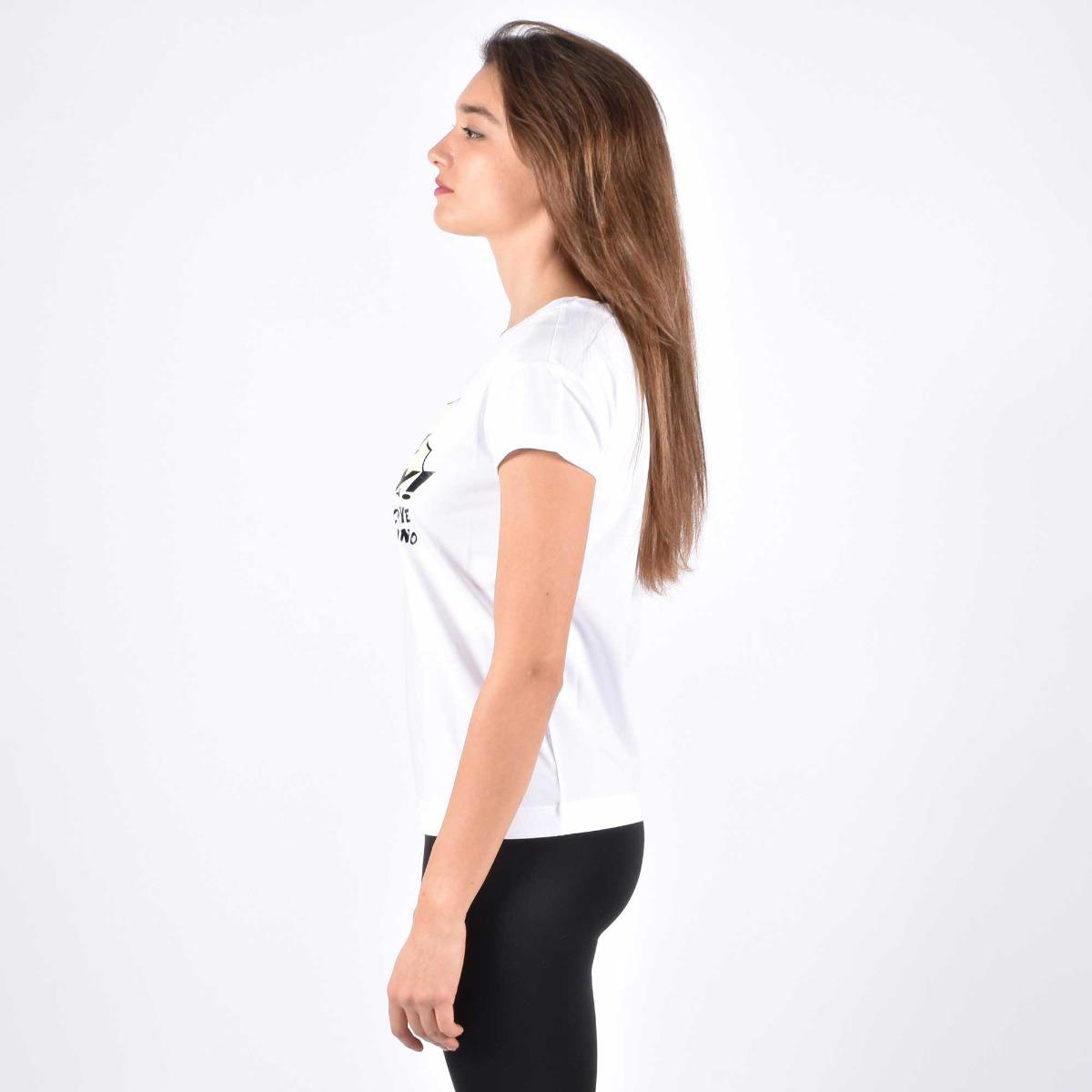 T-shirt beautiful day- Bianco