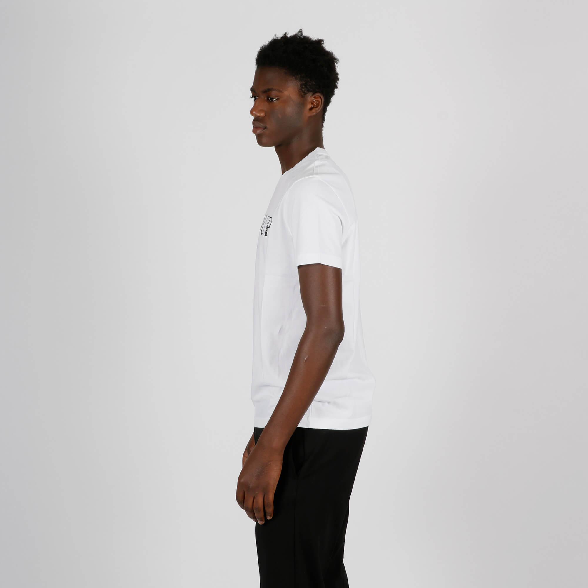 T-shirt logo origine - Bianco