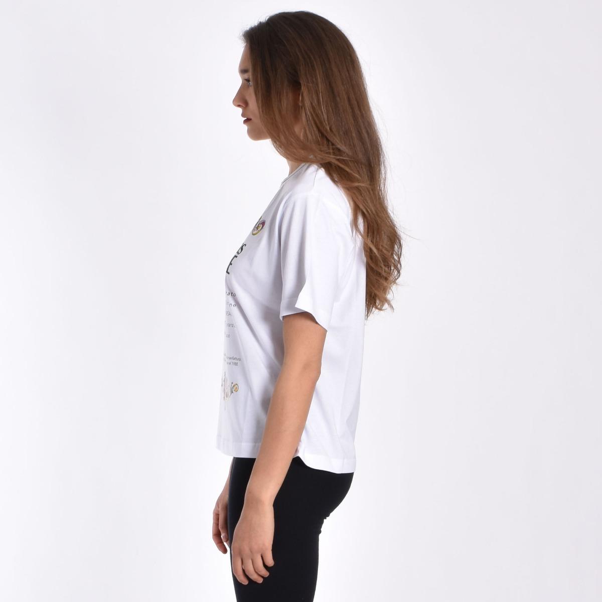 T-shirt certilogo- Bianco