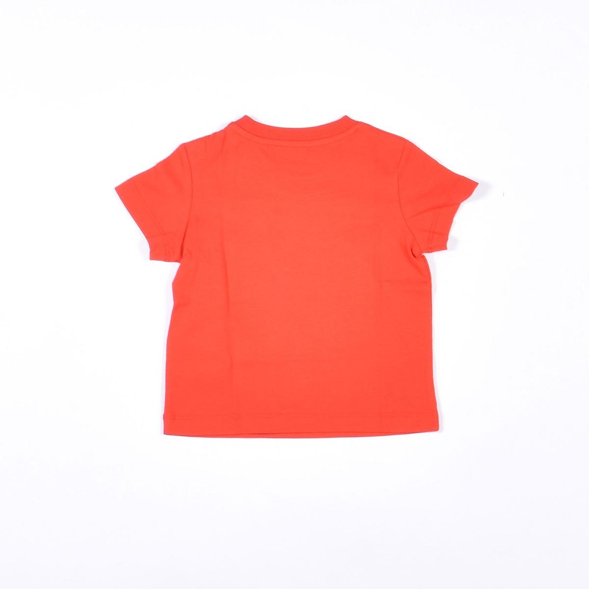T-shirt neonato con logo- Rosso
