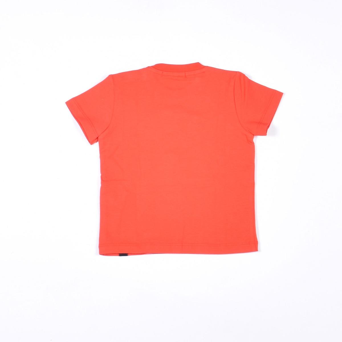 T-shirt con vernice - Rossa