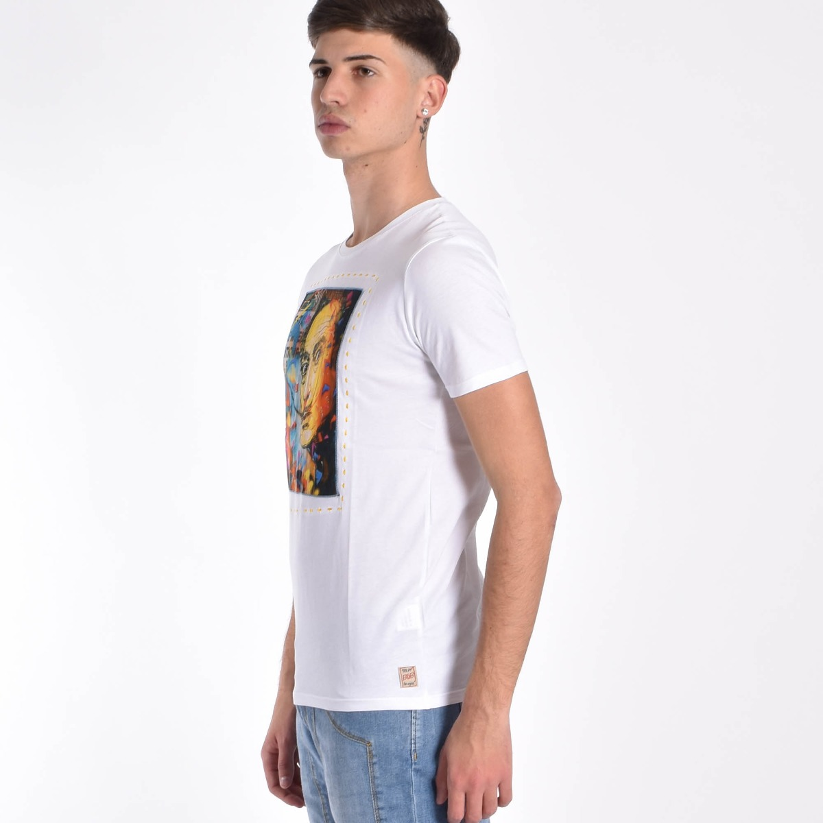 T-shirt  Dalì- Bianco