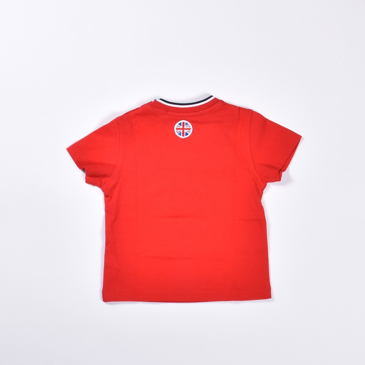 T-shirt  stampa dog- Rosso