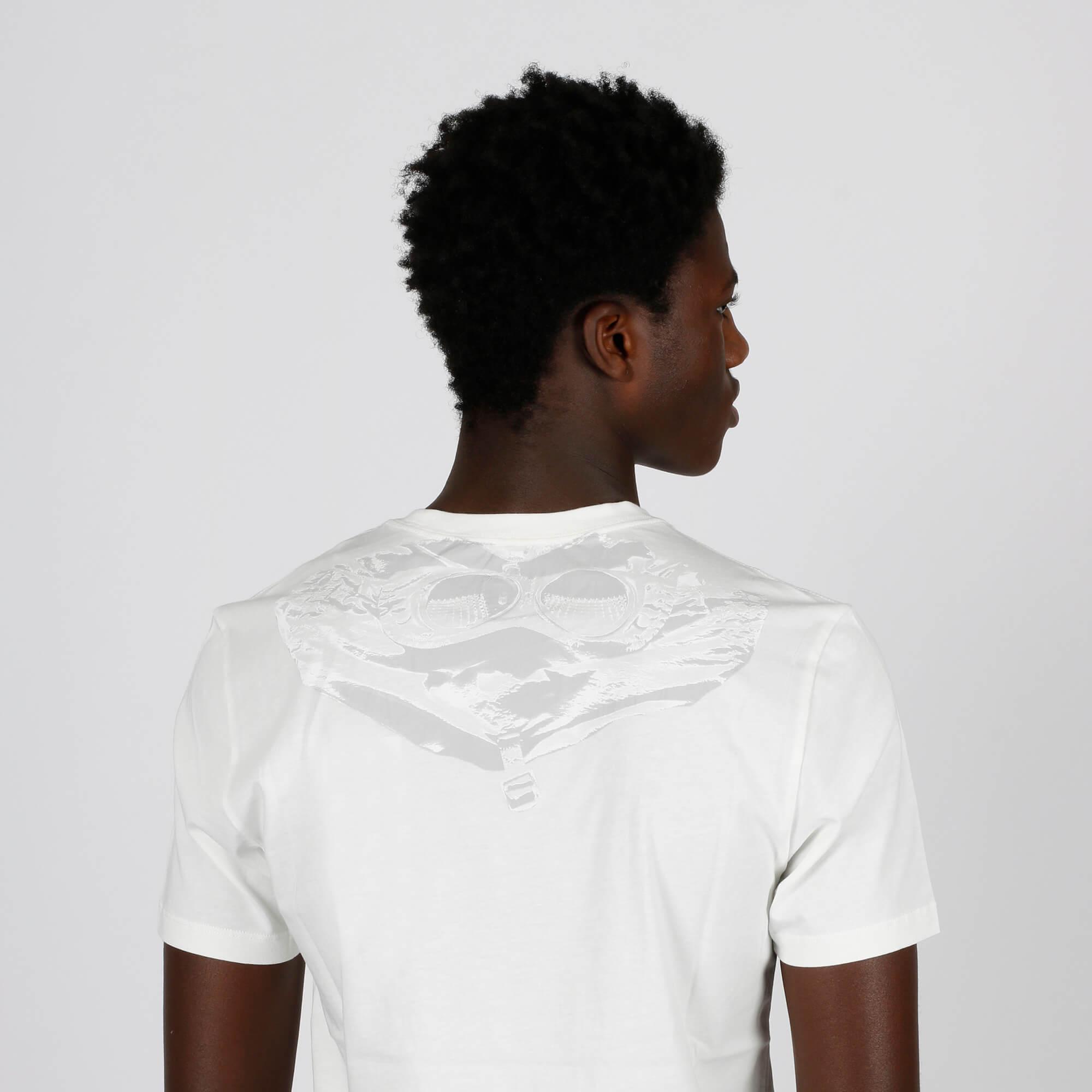 T-shirt goggle hood - Bianco