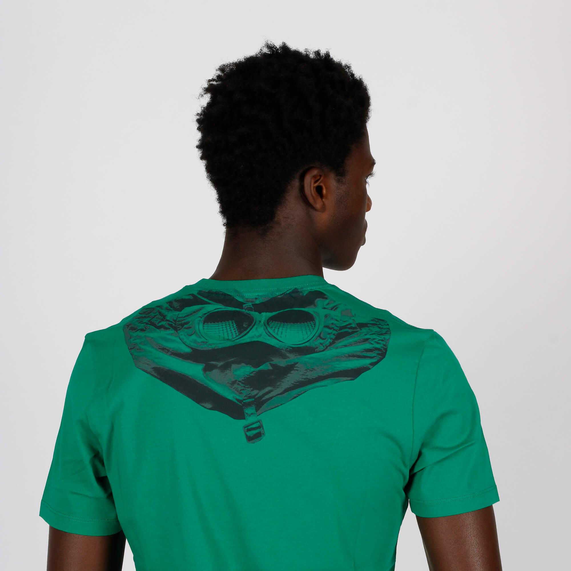 T-shirt goggle hood - Verde