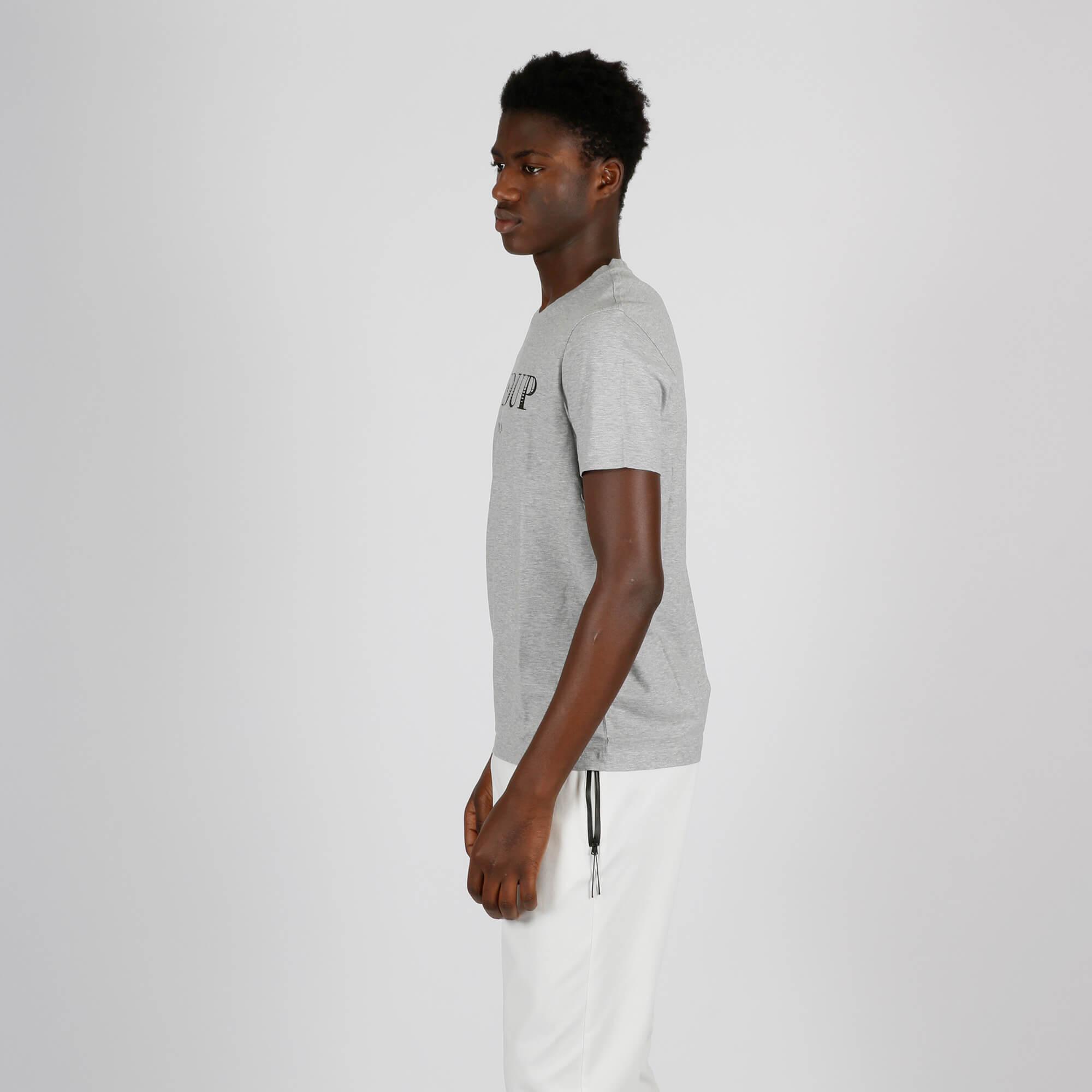 T-shirt logo origine - Grigio