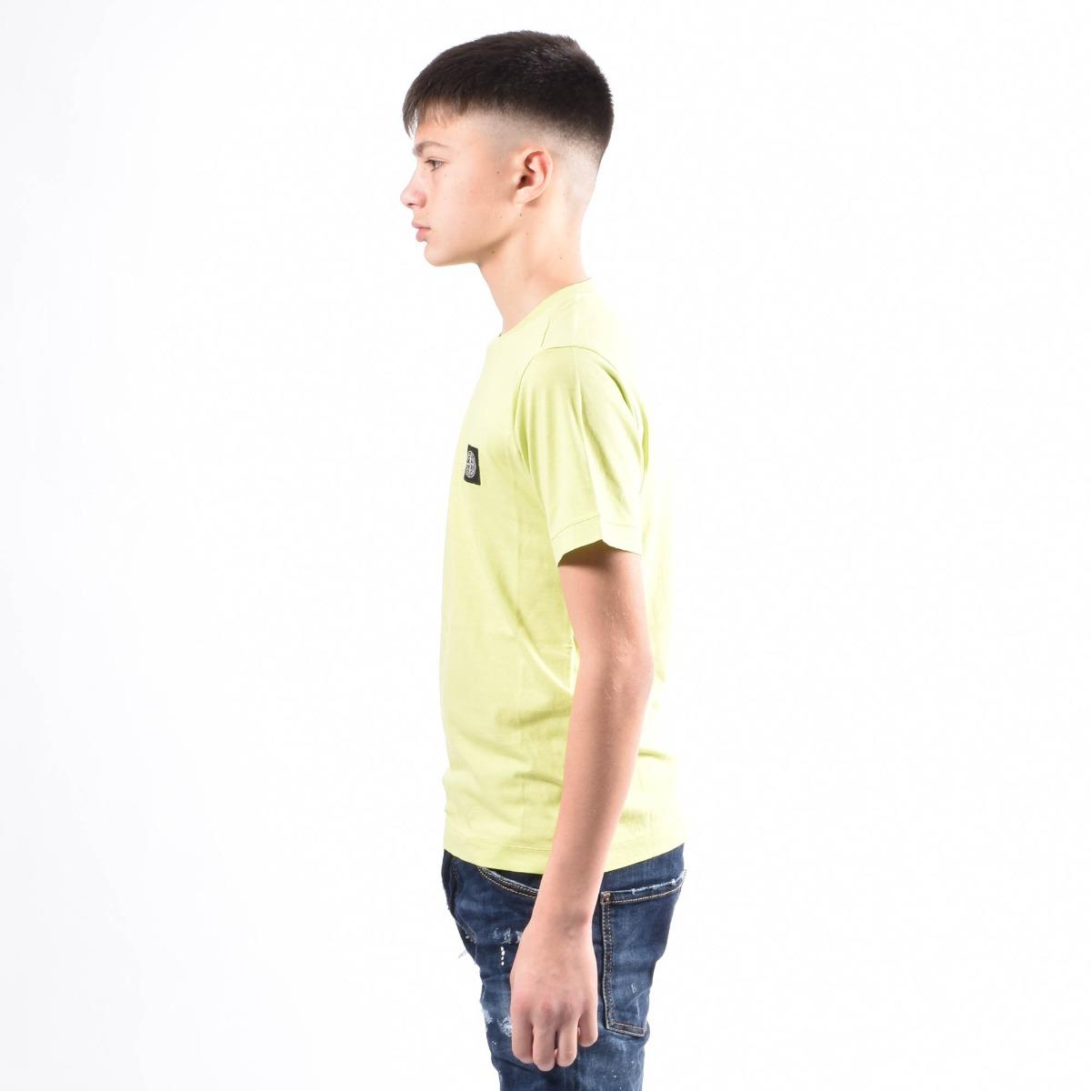 T-shirt logo- Lime