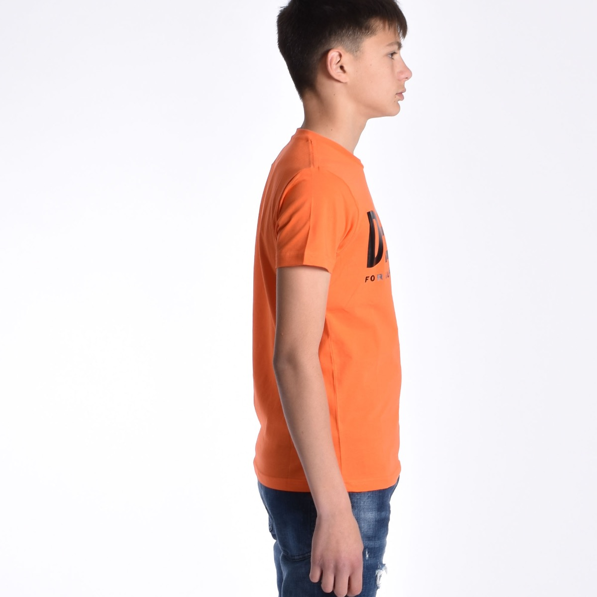 T-shirt logo - Arancione