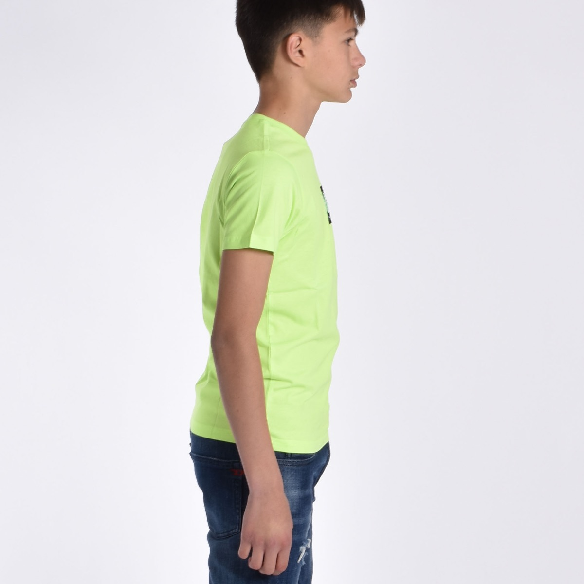 T-shirt logo - Lime