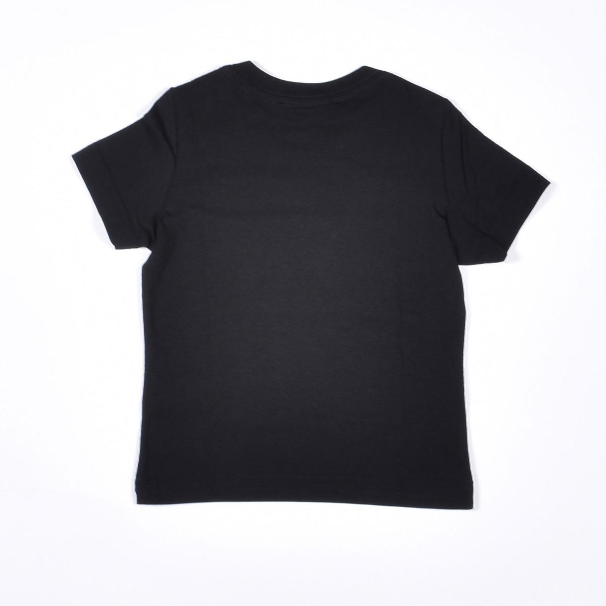 T-shirt logo multicolor- Nero