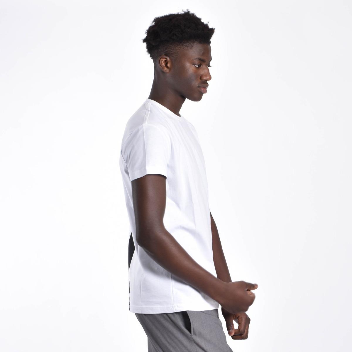 T-shirt logo schiena- Bianco