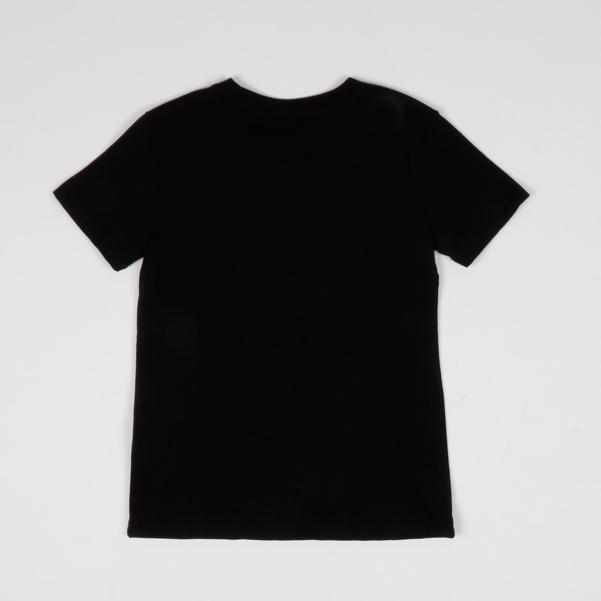 T-shirt logo strass- Nero