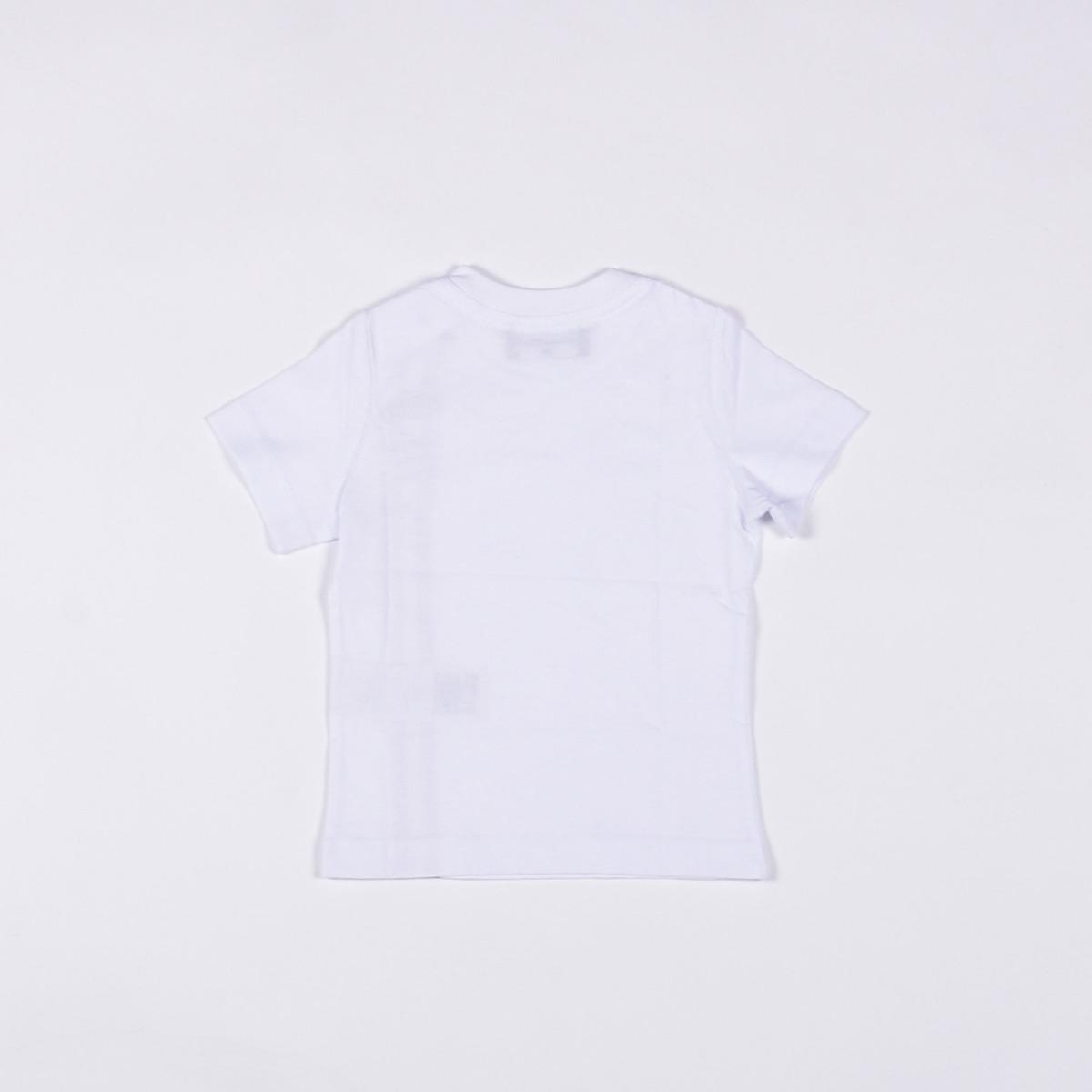 T-shirt logo verticale- Bianco