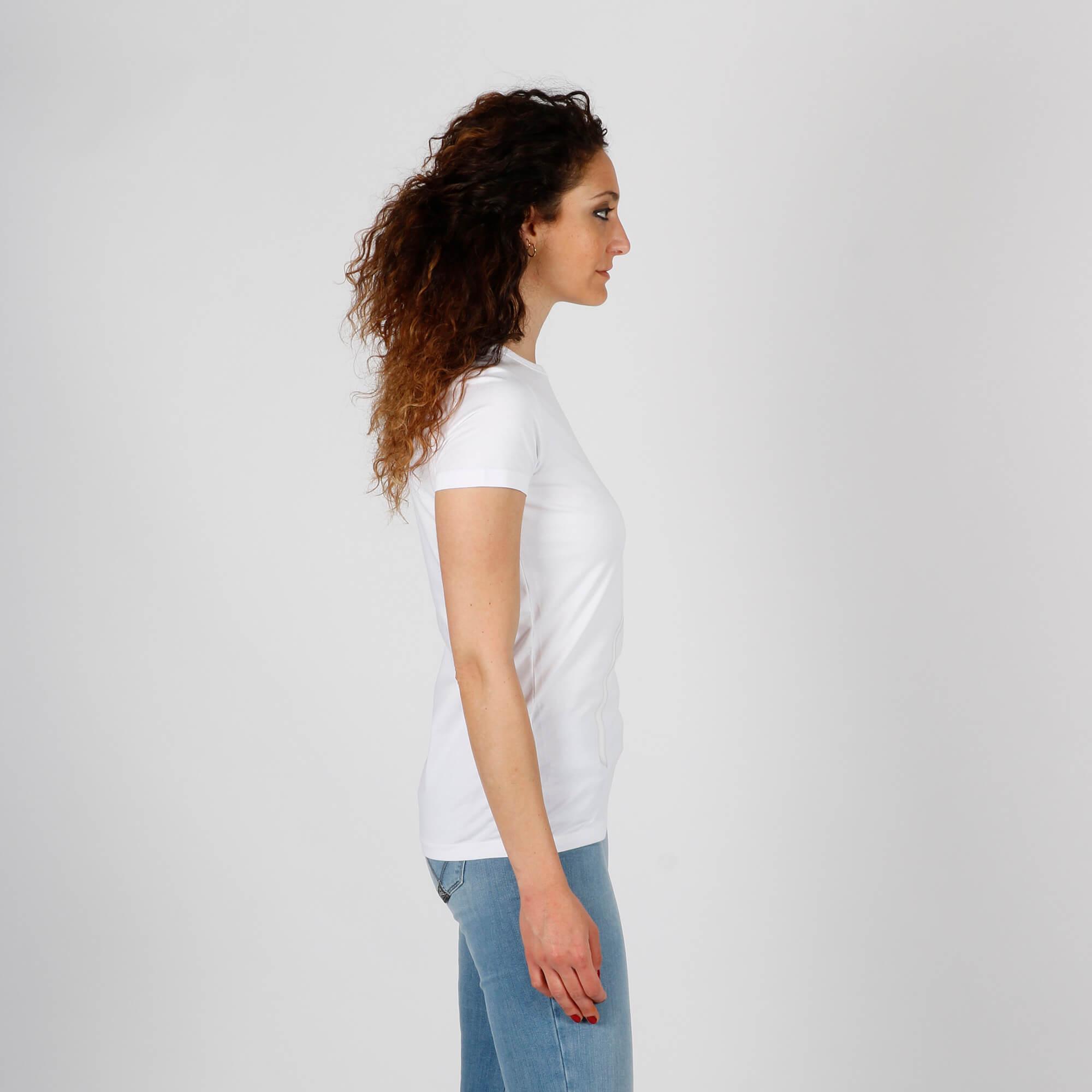 T-shirt lollipop cuore - Bianco