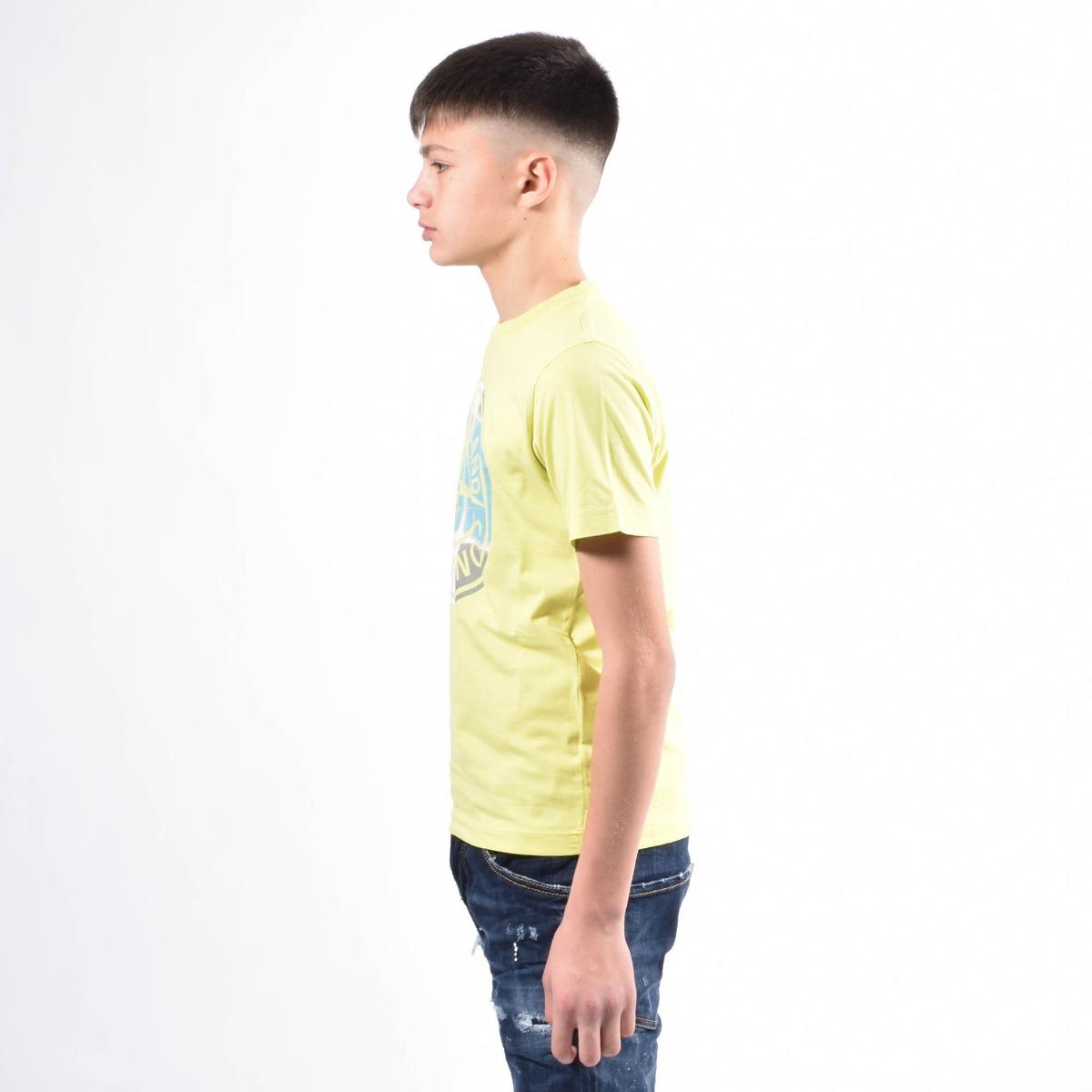 T-shirt maxi logo- Lime