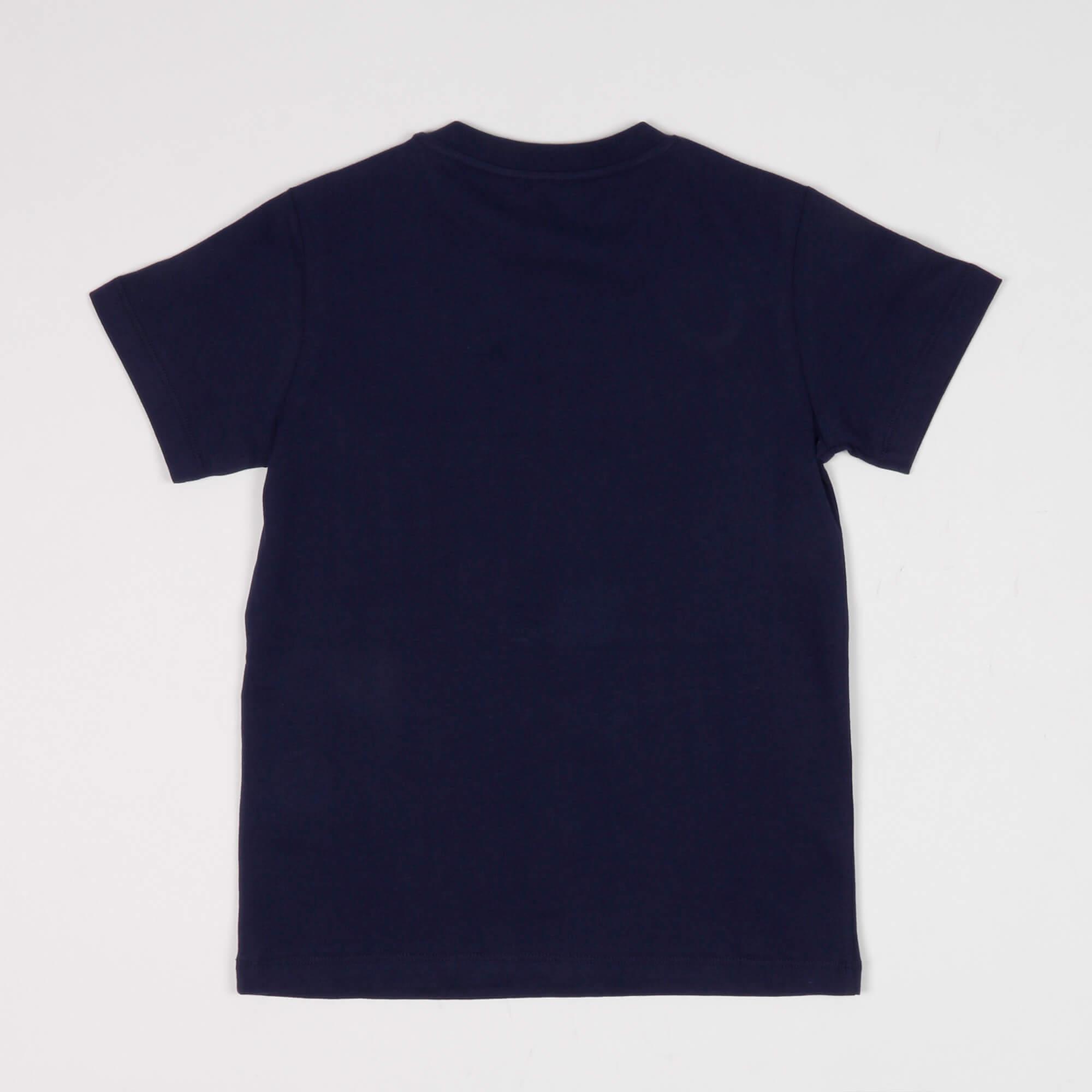 T-shirt maxi stampa - Blu