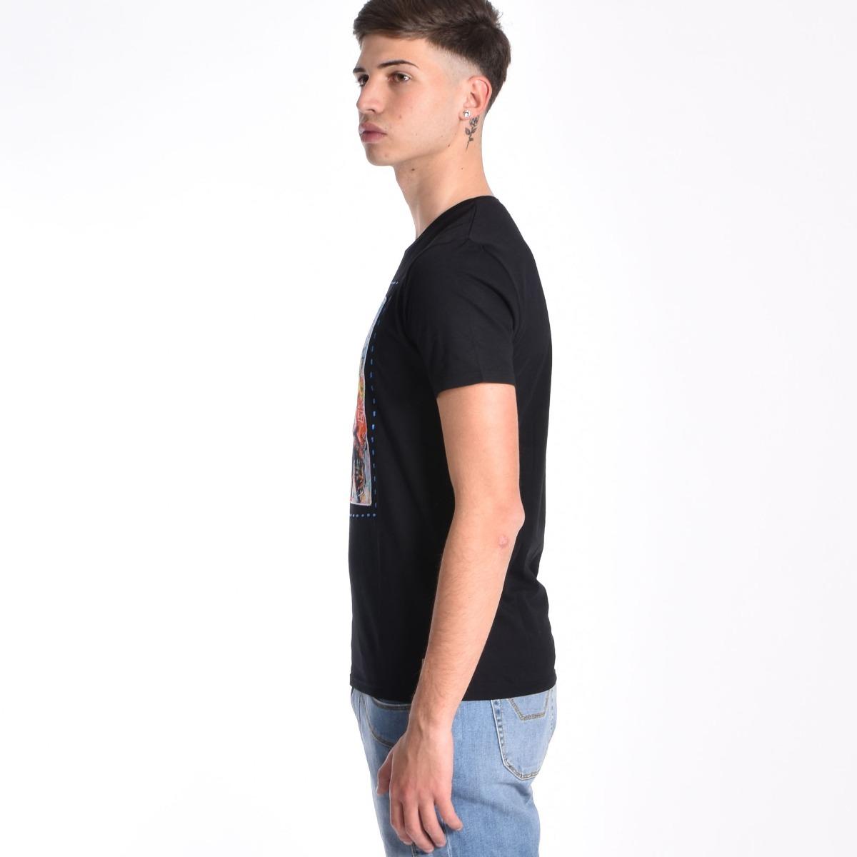 T-shirt Muhammad Ali- Nero