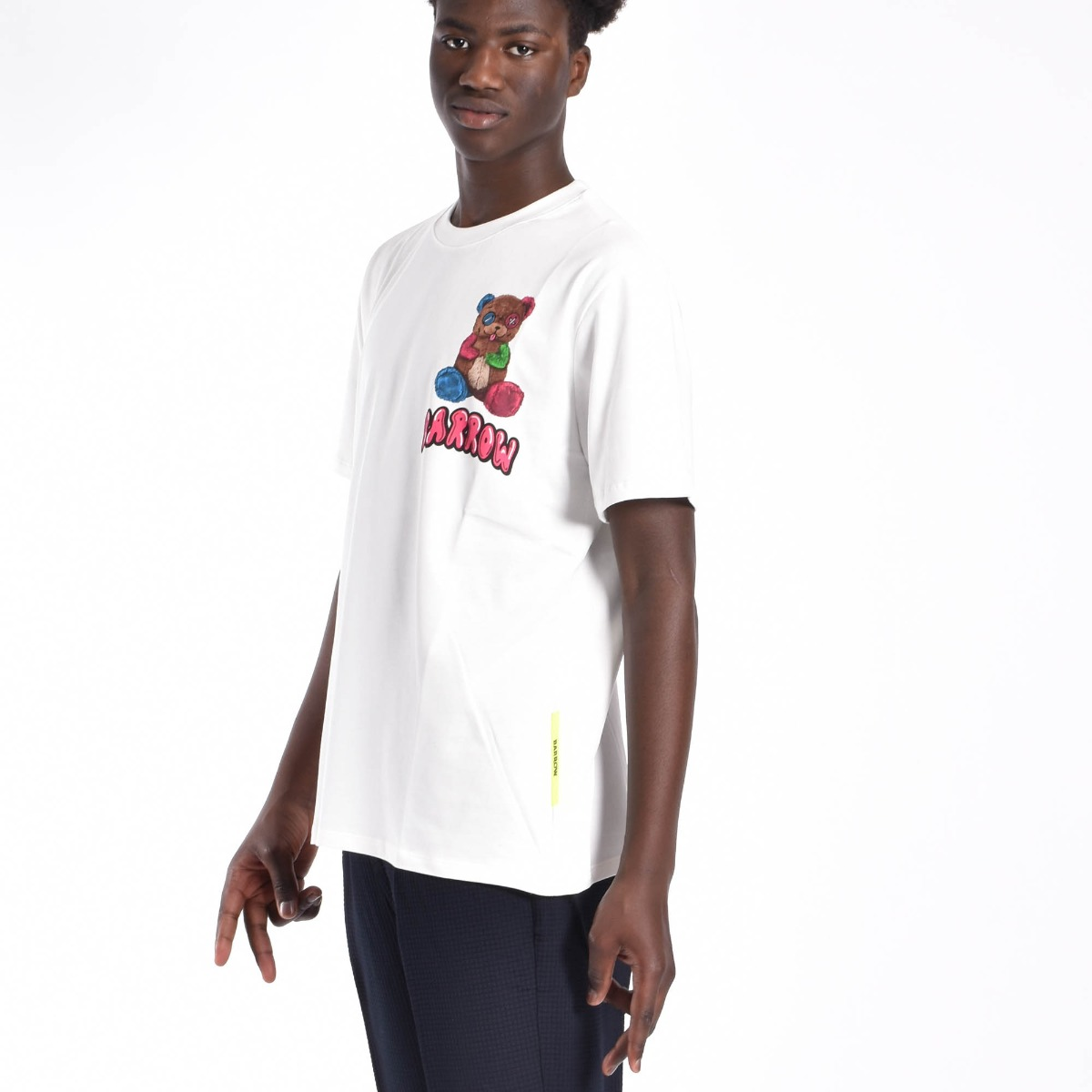 T-shirt orsetto- Bianco