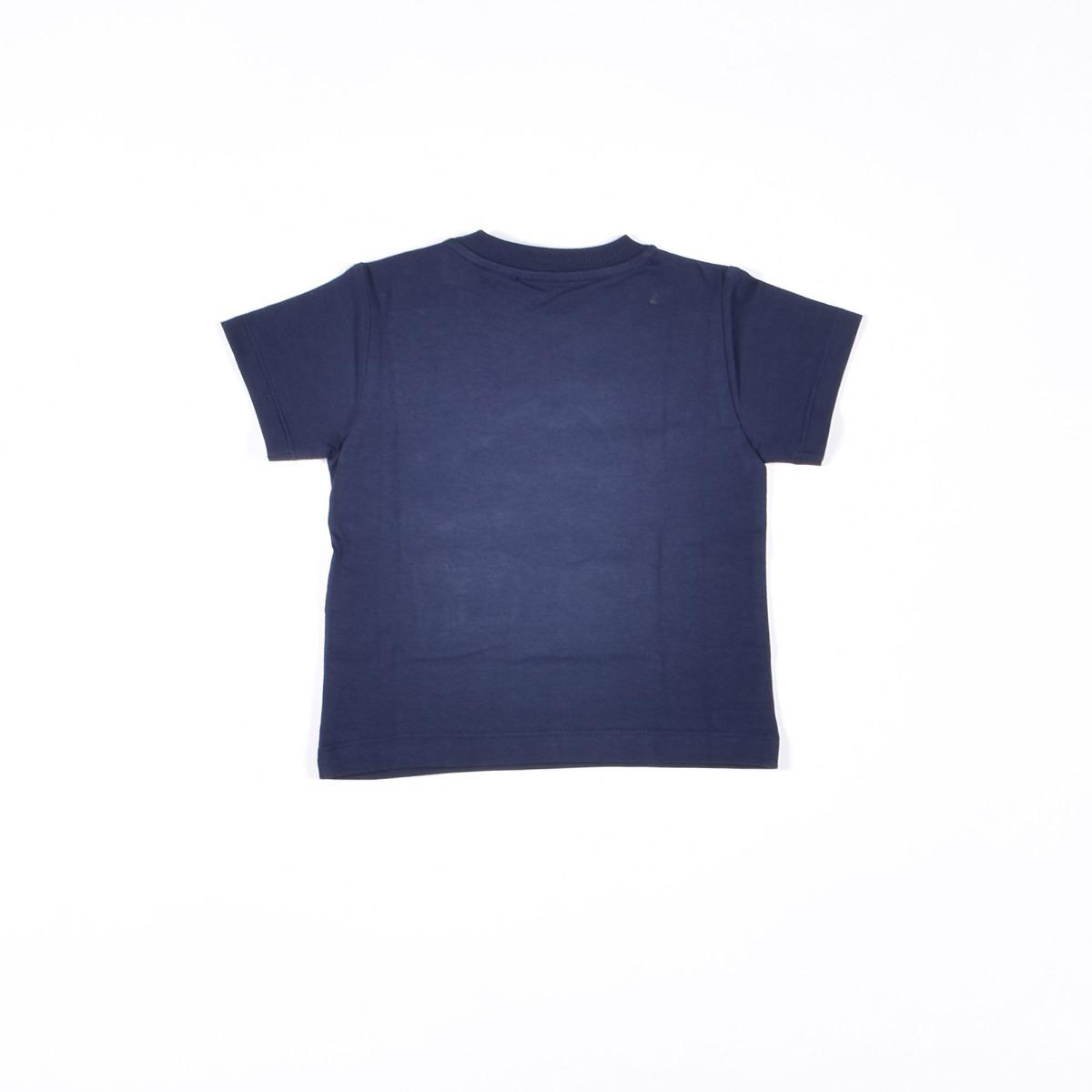 T-shirt neonato teddy pirata- Blu