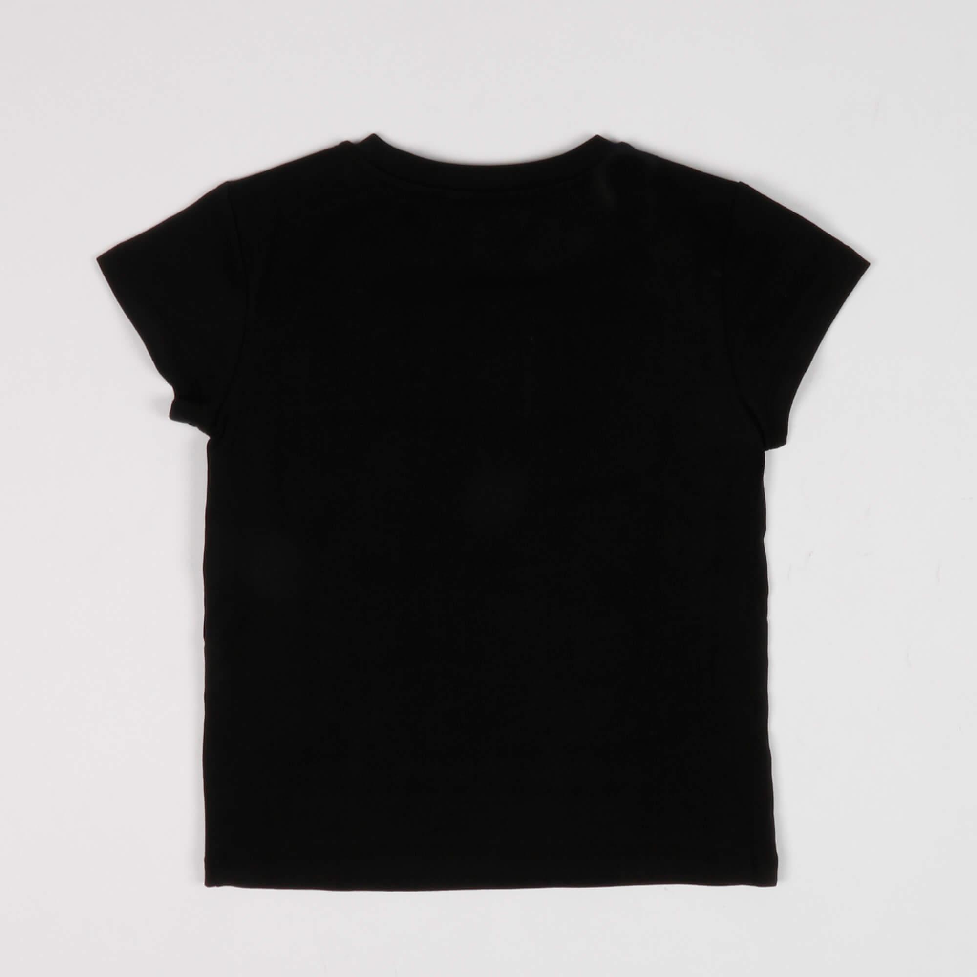 T-shirt ricamo logo - Nero