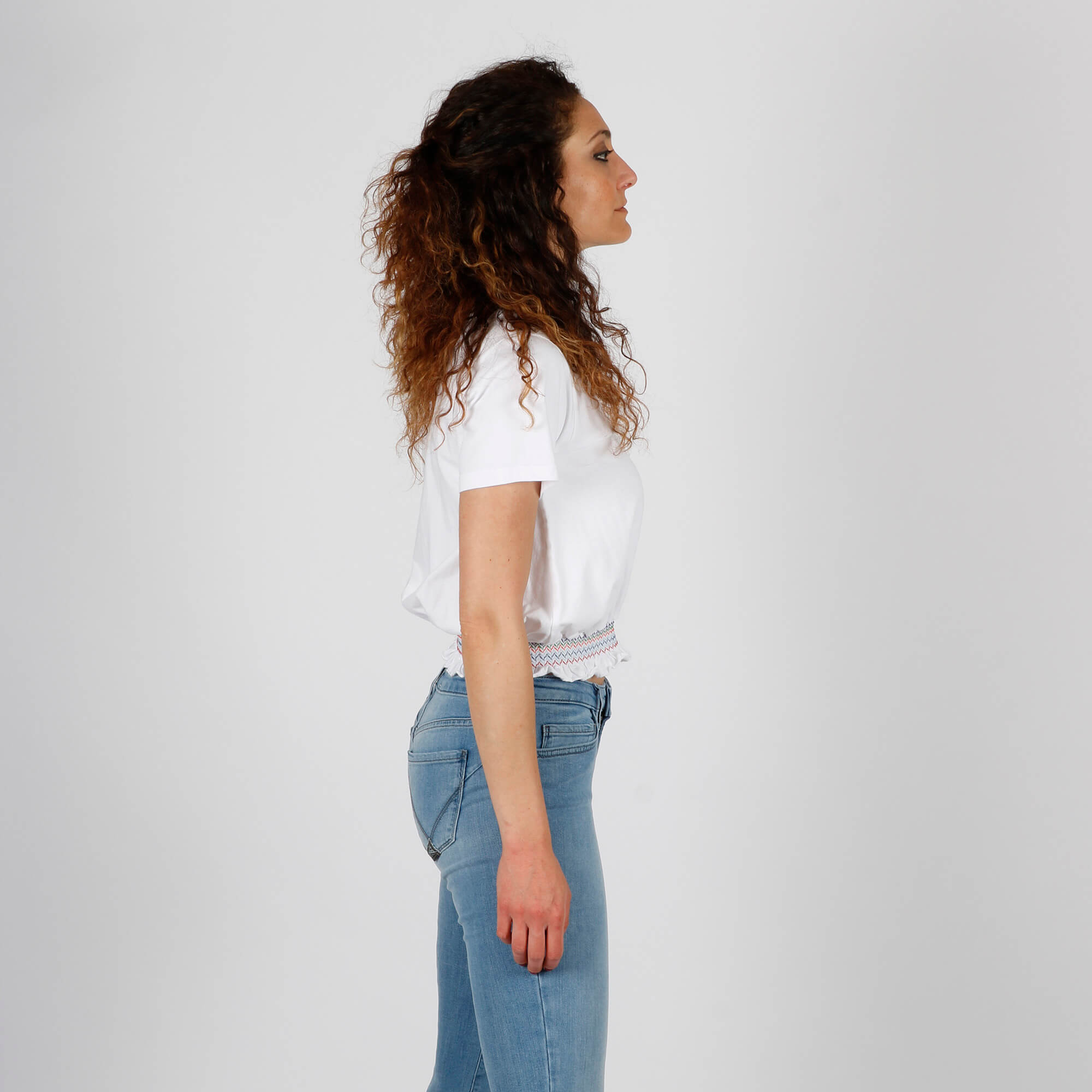 T-shirt joplin- Bianco