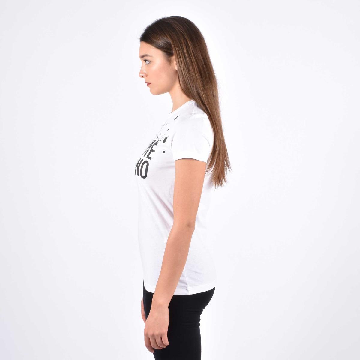 T-shirt stampa splash- Bianco