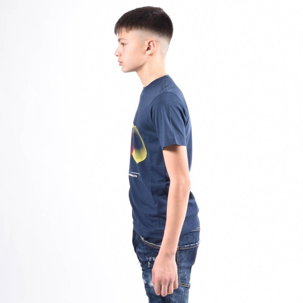 T-shirt- Blu