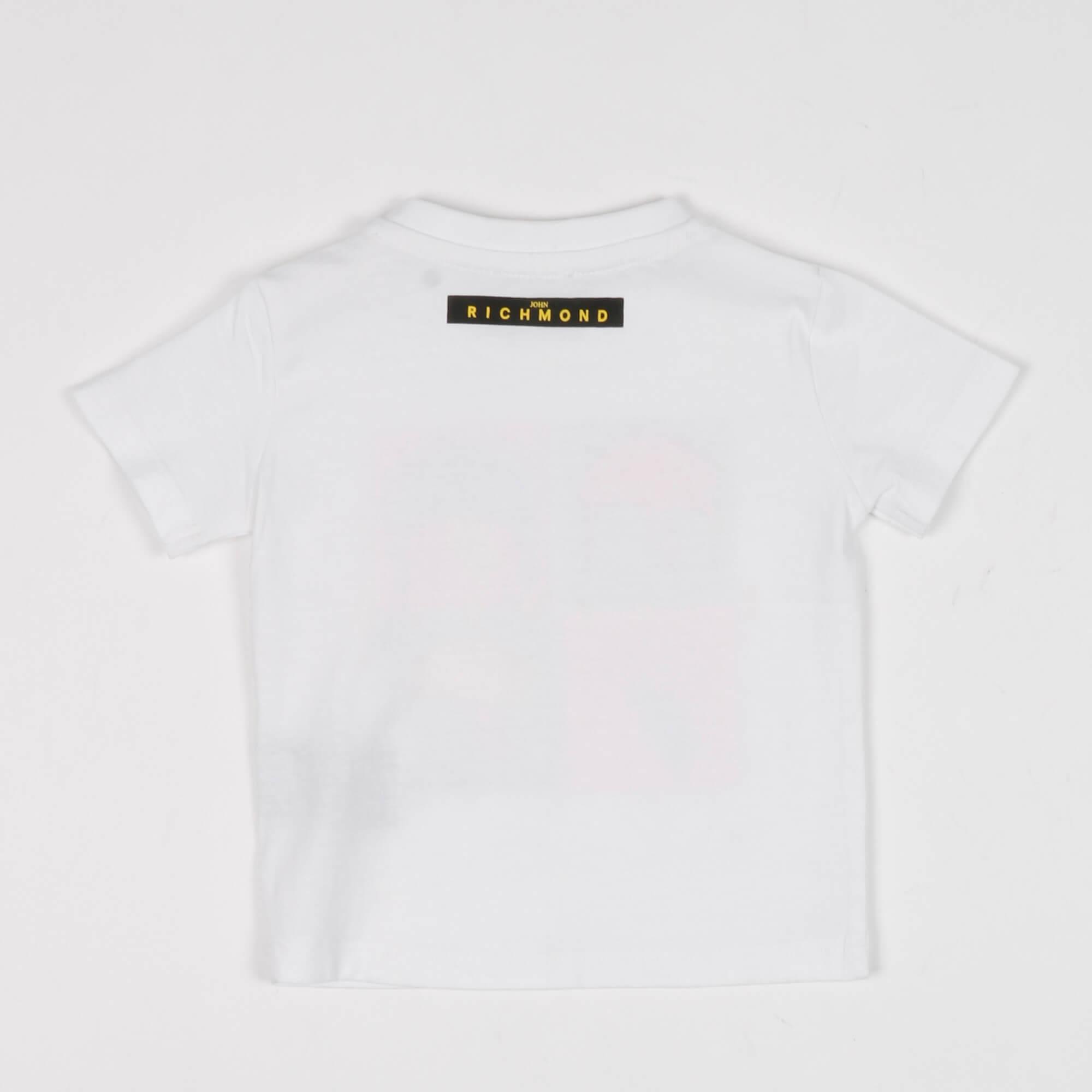 T-shirt stardust - Bianco
