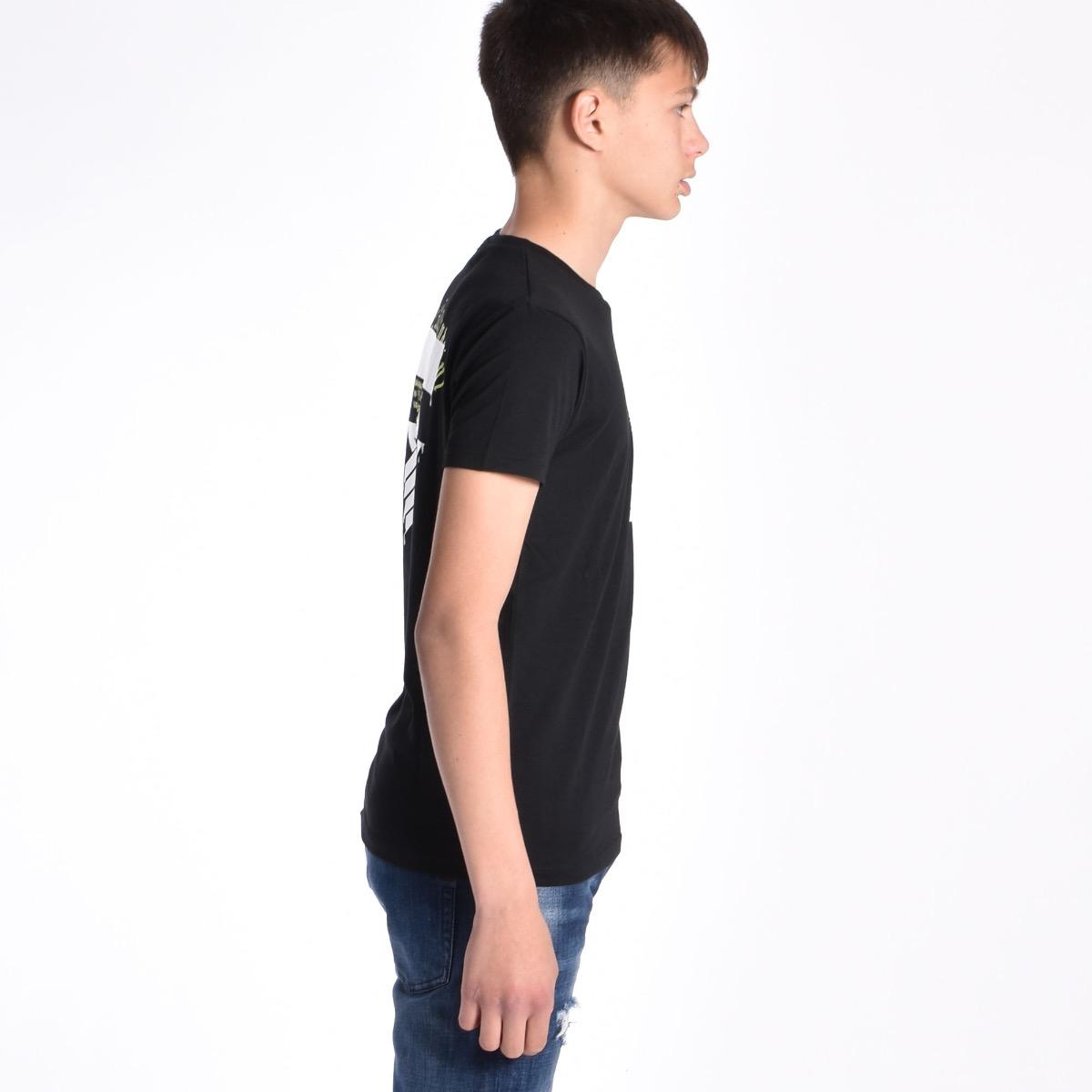 T-shirt disegno con Stella - Nera