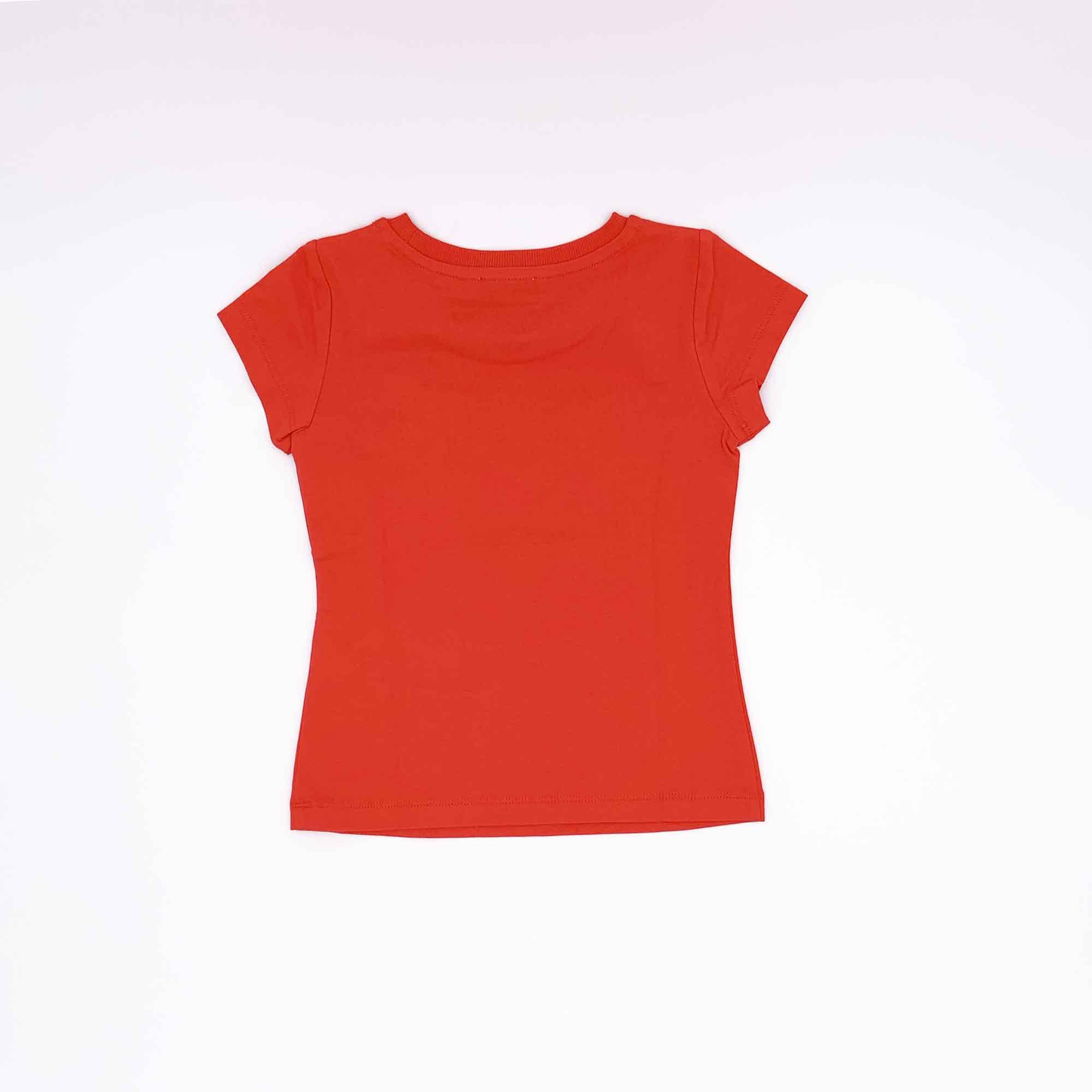T-shirt logo strass - Rosso