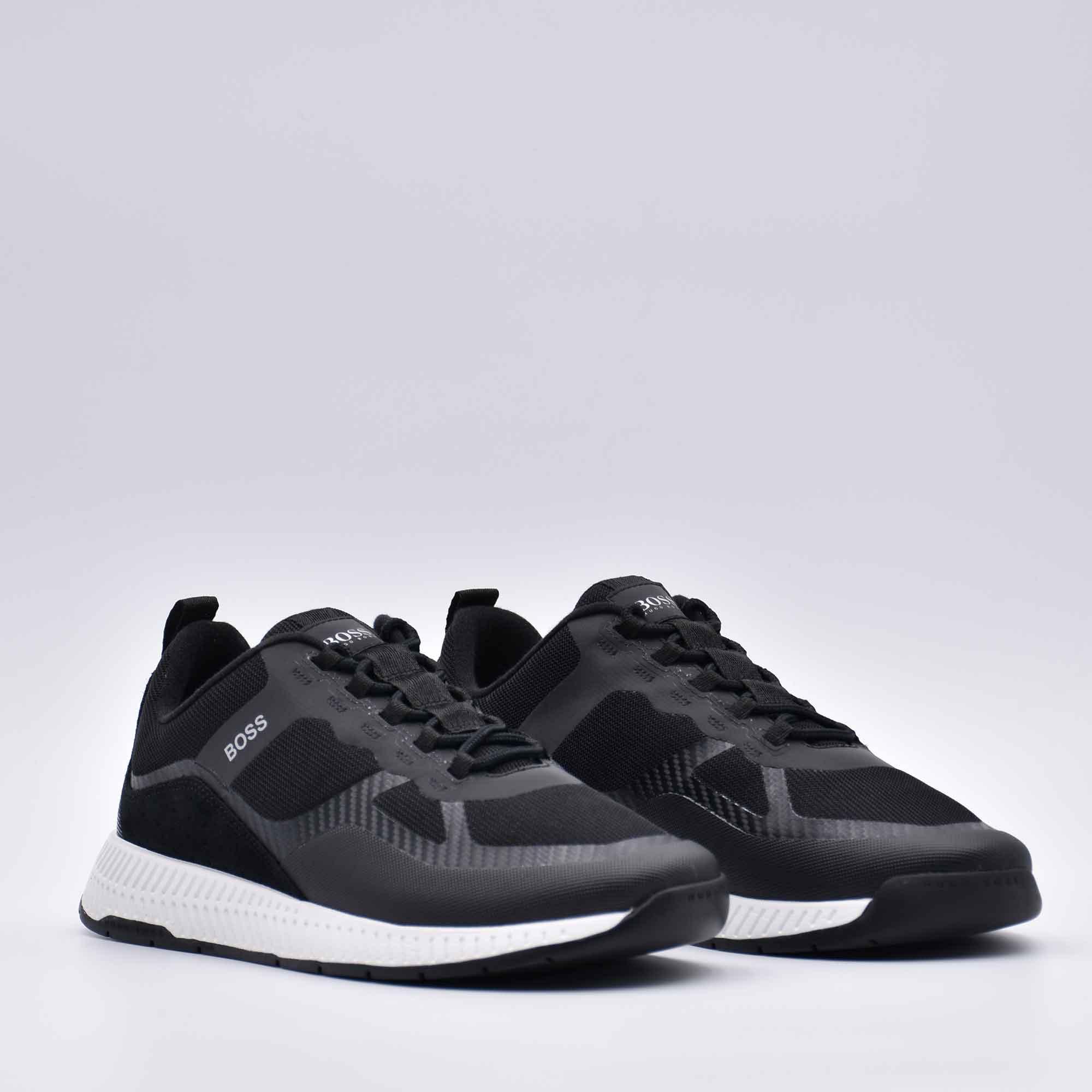 Sneakers titanium runn ibrida - Nero