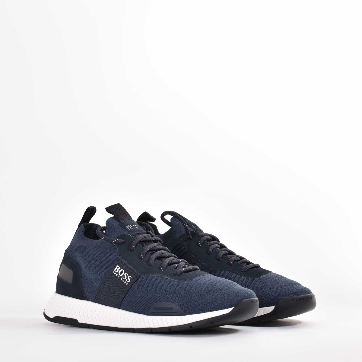 Sneakers titanium runn- Blu