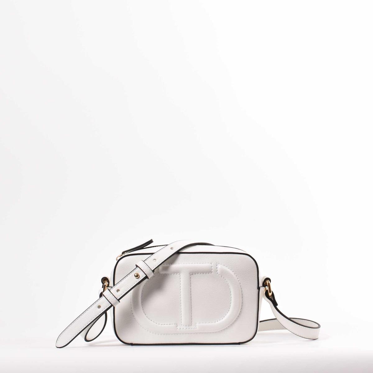 Tracollina logo rilievo- Bianco