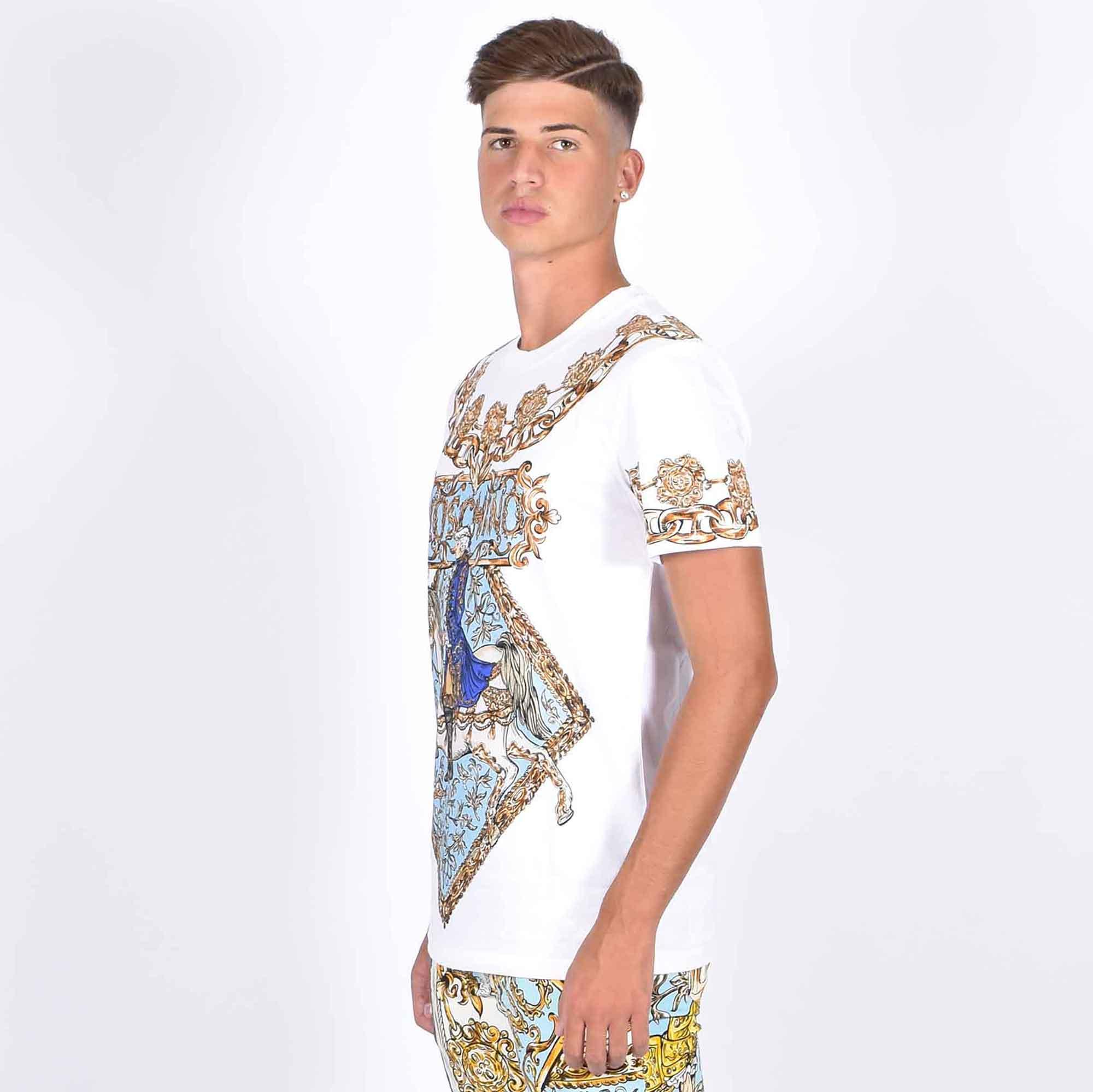 T-shirt st cavaliere - Bianco