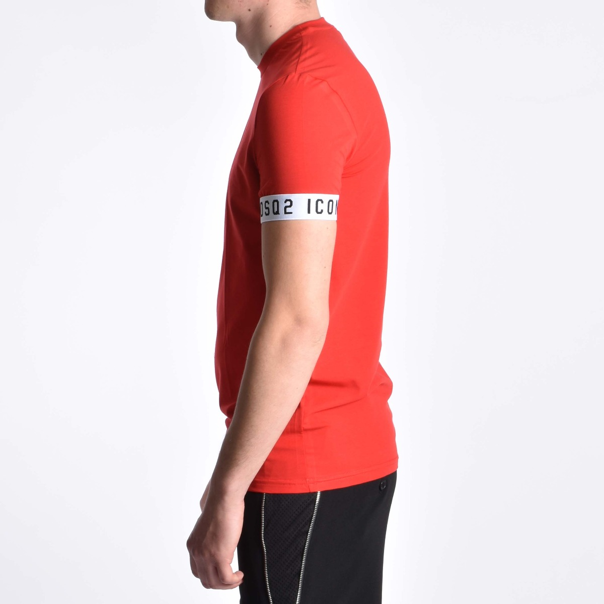 Girocollo fascia icon - Rosso
