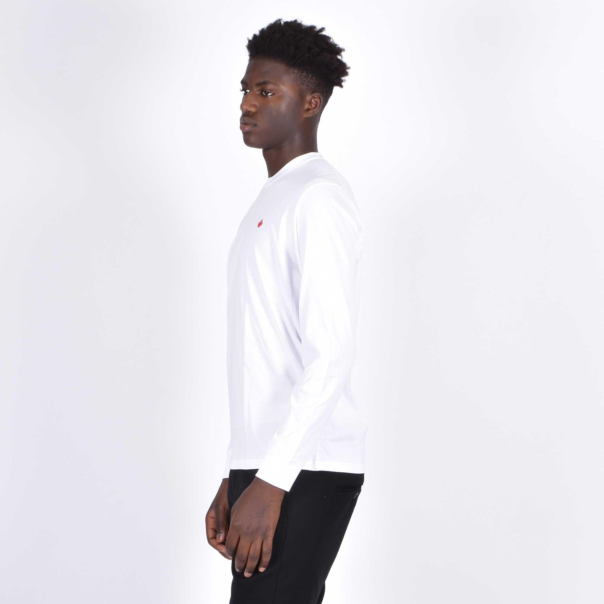 T-shirt foglia acero - Bianco