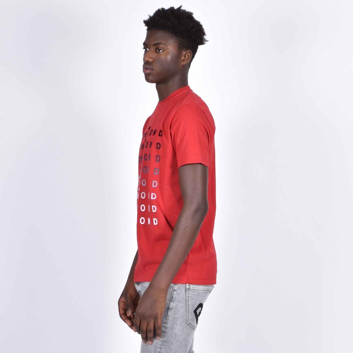 T-shirt genna - Rosso