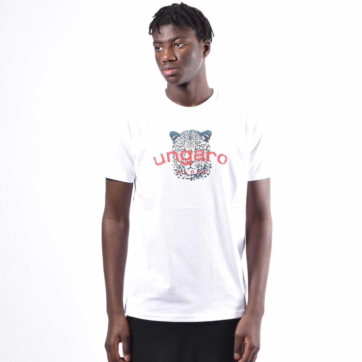 T-shirt jaguaro - Bianco