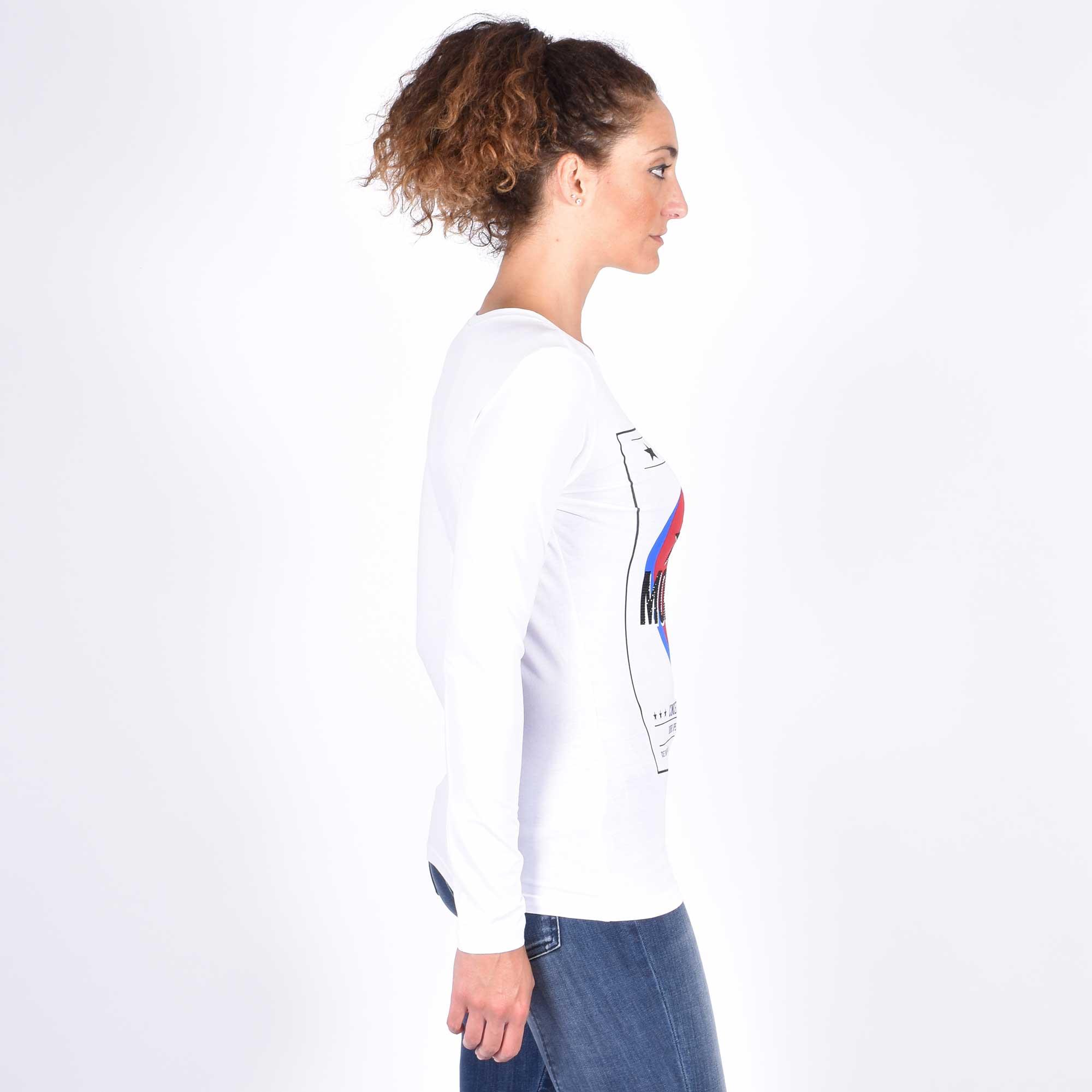 T-shirt st locandina - Bianco
