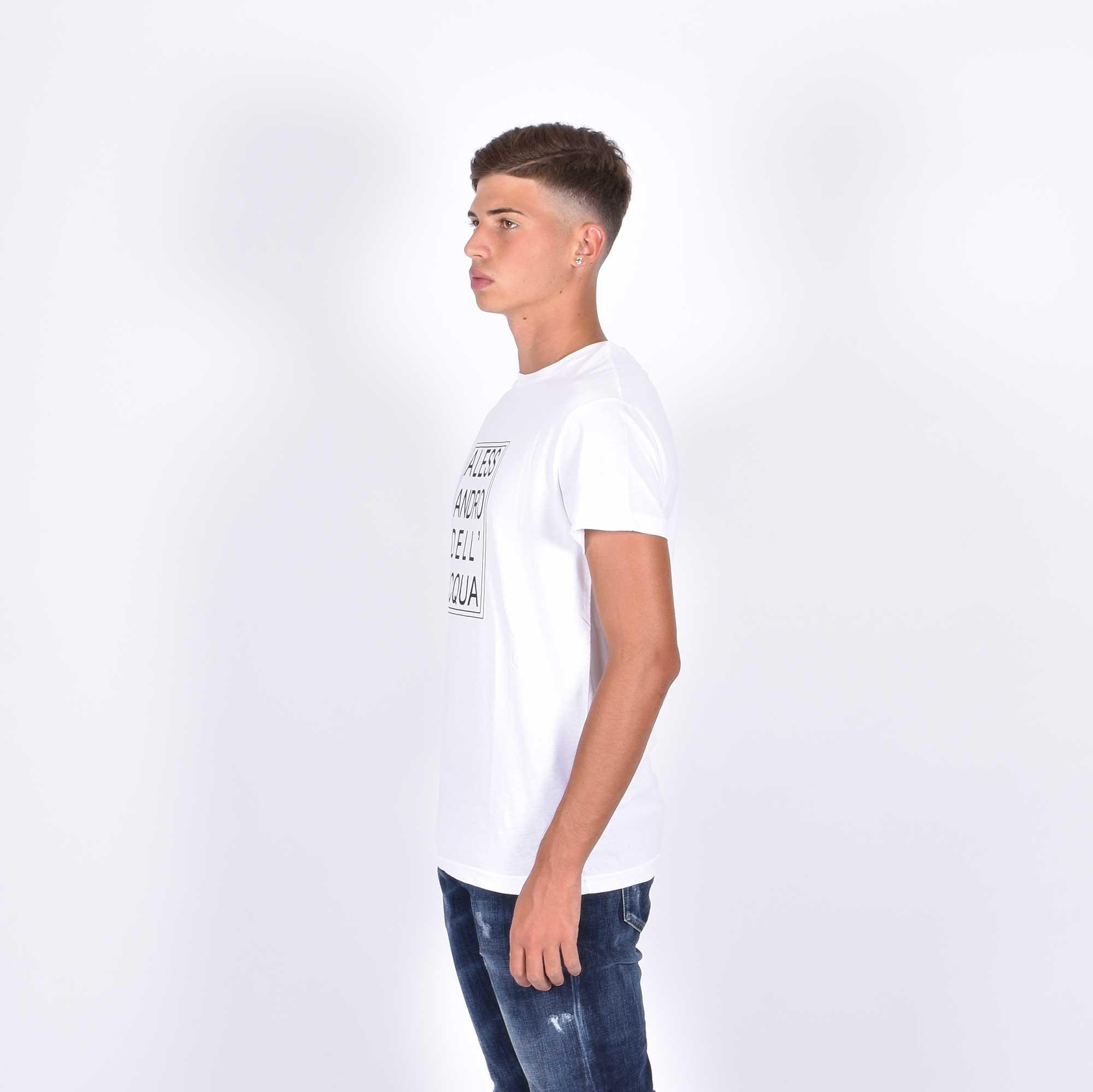 T-shirt mc logo - Bianco