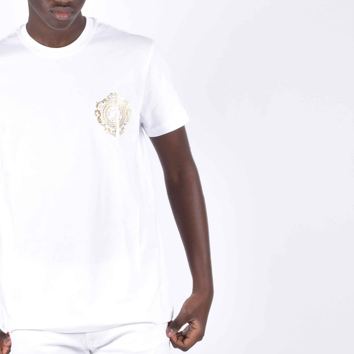 T-shirt logo piccolo - Bianco