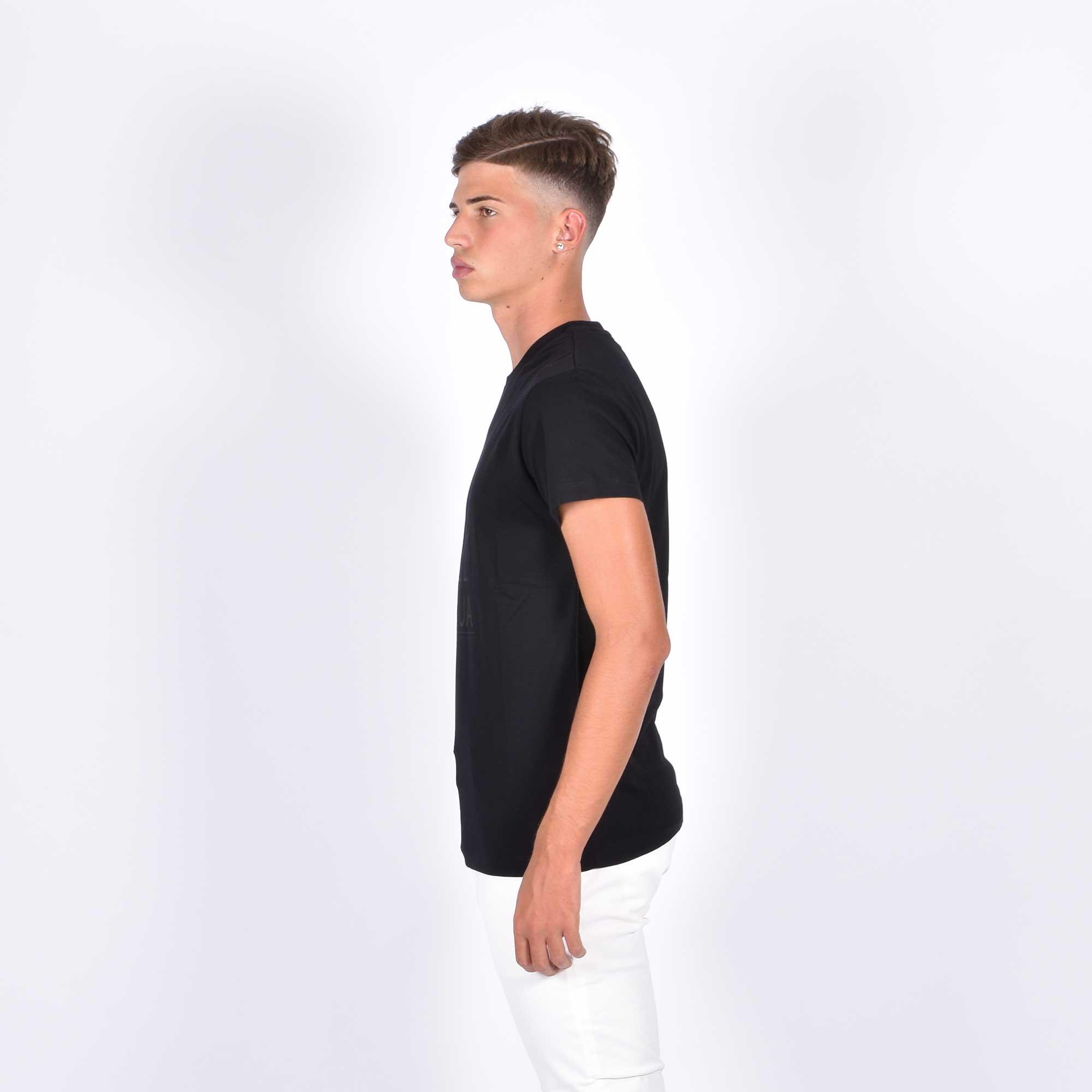 T-shirt mc logo - Nero