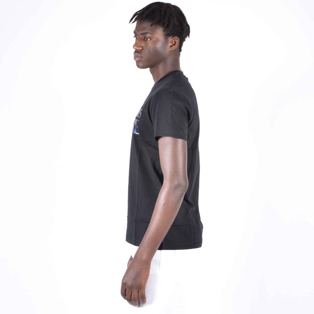 T-shirt logo reflective - Nero