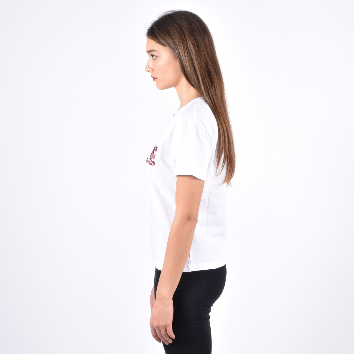 T-shirt logo bandana - Bianco