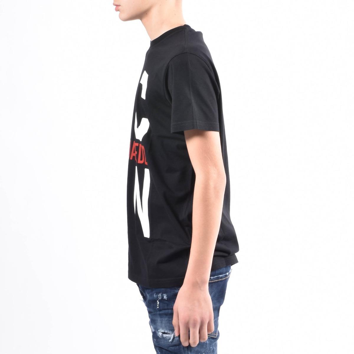 T-shirt relax icon - Nero