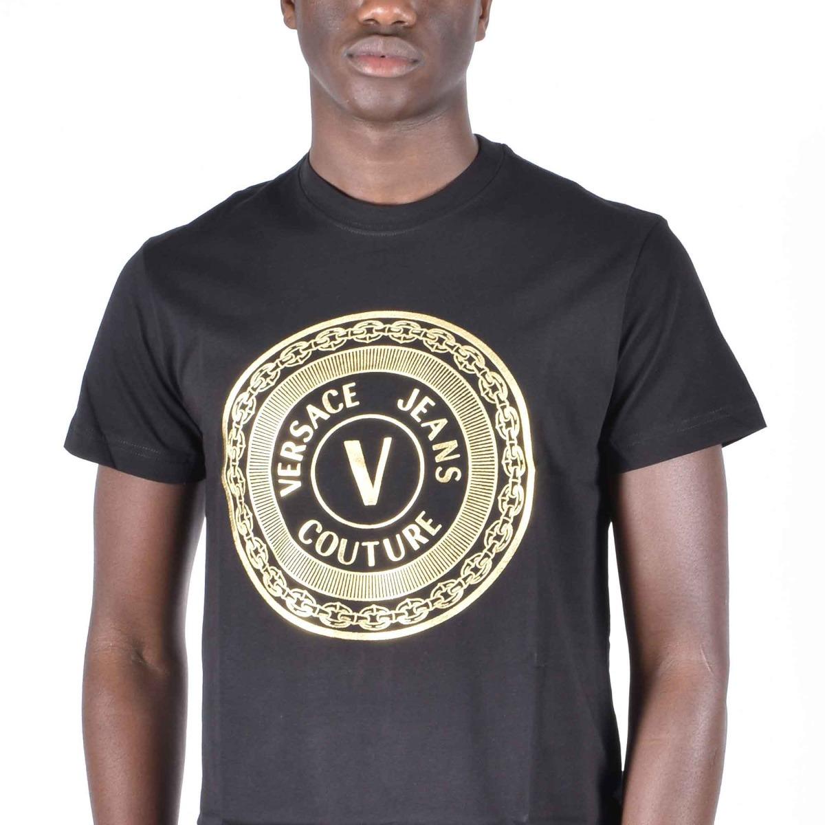 T-shirt logo cerchio - Nero